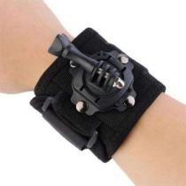 Suporte alça de pulso com proteção em neoprene para gopro e sjcam com giro 360 graus - Dx