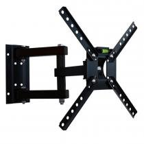 "Suporte Articulado para TV LCD 10 a 55"" Preto SBRP140 - Brasforma - Brasforma"