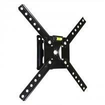 """Suporte Articulado para TV LED/ Smart TV e 3D de 10"""" a 55"""" SBRP120 Preto - Brasforma"""