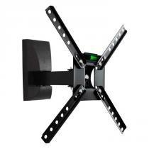 """Suporte Articulado para TV LED/ Smart TV e 3D de 10"""" a 55"""" SBRP130 Preto - Brasforma"""