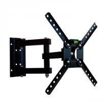 """Suporte Articulado para TV LED/ Smart TV e 3D de 10"""" a 55"""" SBRP140 Preto - Brasforma"""