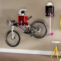 Suporte Bike Nicho Multifuncional Colorido Easy BE Móveis - Be mobiliário
