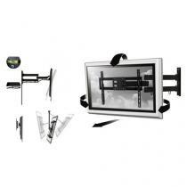 Suporte De Ferro Full Motion Multilaser Para Tv Led E Lcd- 32 Ate 50 polegadas - Multilaser