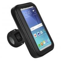 """Suporte de guidão p/ smartphone até 5.5"""" - BI095 - Atrio"""