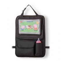 Suporte de tablet e carrinho com organizador para carro baby multikids -