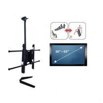 Suporte de Teto Brasforma Para TVs Plasma, LCD e LED de 37 à 70 Polegadas - SBRP650 - Brasforma