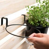 Suporte de treliça para vaso auto irrigável médio (16x14) Raiz - Raíz vasos autoirrigáveis