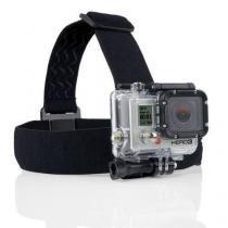 Suporte faixa de cabeça para câmeras gopro e sjcam - Dx