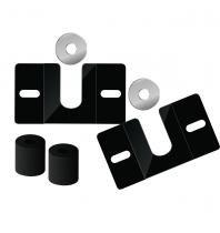 Suporte Fixo Universal para TV - Linha Prática - 14 - 105 - Prime Tech - Roldanas de Alumínio - Prime Tech