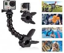 Suporte Flexível com Garra para GoPro - Worldview