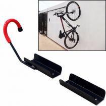 Suporte Gancho para Pendurar Bicicleta na Parede - Genus móveis