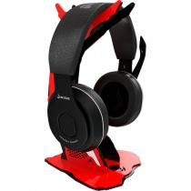 Suporte headset rise gaming alien black and red -