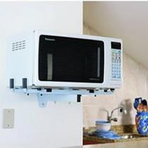 Suporte para microondas branco - SBR3.6 Brasforma -