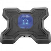 Suporte para Notebook com Cooler Acoplado AC123 Preto Multilaser -