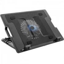 Suporte para Notebook com Cooler Acoplado AC166 Preto Multilaser -