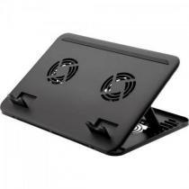 Suporte para notebook com cooler duplo ac103 multilaser -