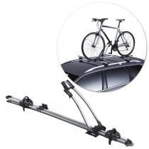Suporte Transbike 1 Bicicleta Rack Teto Thule Freeride 532 Suporte 17 KG Aço Carbono Cinza Universal - Thule
