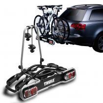 Suporte Transbike 2 Bicicletas Engate Thule EuroRide 941 Sistema de Iluminação Cinza 36KG Universal - Thule
