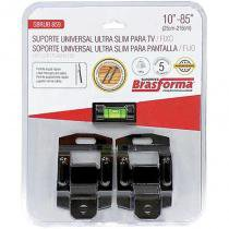 Suporte Ultra Slim para TV/Fixo 10 à 85 Polegadas SBRUB859 - Brasforma - Brasforma