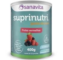 Suprinutri Ganho de Peso - Sanavita - Frutas Vermelhas - 400g -