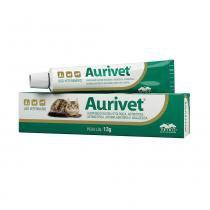 Suspensão Oleosa Otológica Antibiótica Vetnil Aurivet 13 g -