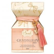 Sweet Collection Peach Giovanna Baby - Perfume Unissex - Deo Colônia - 50ml -