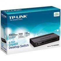 Switch de mesa 8 portas - gigabit - tp-link tl-sg1008d - Tp-link