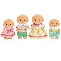 Sylvanian families familia dos poodles toys epoch magia 5259 - Epoch magia