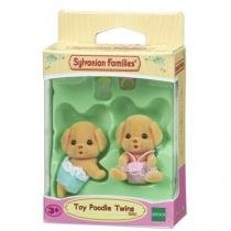 Sylvanian families gemeos poodle toy epoch magia 5261 -