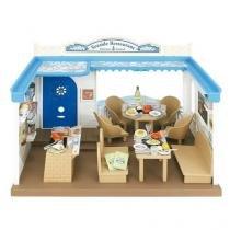 Sylvanian families restaurante na praia epoch magia 4190 -