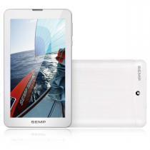 """Tablet 7"""" 3G e WiFi 1GB de RAM/8GB Memória e Android Kit Kat Semp TA0709G - Semp"""