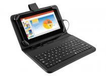 """Tablet 7"""" com Capa e Teclado Multilaser - NB196 -"""