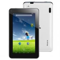 "Tablet 7"" dl e-colors tp257, android kit kat, 4gb memoria, processador dual core -"