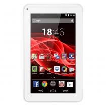 "Tablet 7"" m7s quad core branco nb185 multilaser -"