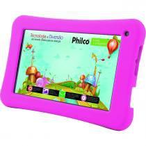 """Tablet 7"""" WiFi 8GB com Capa Protetora Philco PH7O Kids - Philco"""