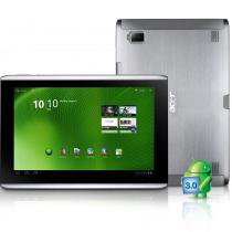 Tablet Acer Iconia A500 Android 3.0 Wi-Fi Processador Tegra 250 1GHz 1GB RAM 32GB HD Tela LED 10.1 -