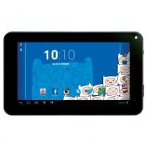 Tablet Android 4.2 Adventure Time com Headphone - Tela 7 Multi-Touch e 8GB - Candide -