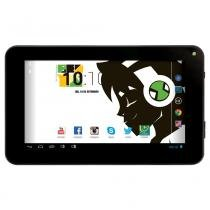 Tablet Android 4.2 Ben 10 com Headphone - Tela 7 Multi-Touch e 8GB - Candide -