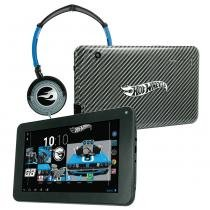 Tablet Android 4.2 Hot Wheels com Headphone - Tela 7 Multi-Touch e 8GB - Candide - Candide