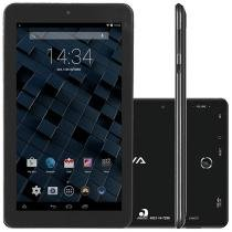 "Tablet Bravva Planet Tab BV-Quad 8GB 7"" Wi-Fi - Android 5.0 Quad Core de 1.3GHz Câm. 2MP + Frontal"