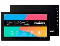"Tablet Bright de 10.1"" Com Processador Dual Core Preto - Bright"