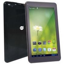 Tablet Dazz MX7 Quad Core, 7 Polegadas, Wi-Fi, 512MB, 8GB, Android 5.1, Preto - 69182 - Maxprint