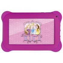Tablet Disney Princesas - 7 Polegadas - Wifi - 8GB Memória Interna Quad Core Rosa NB239 Multikids - Multilaser