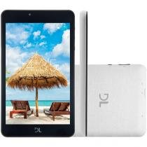 "Tablet DL C17 8GB Tela 7"" - Android Proc. Quad Core Câmera Integrada"