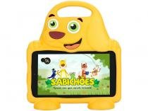 "Tablet DL Drop Kids Plus 8GB 7"" Wi-Fi Android - Proc. Quad Core Câmera Integrada"