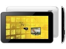 "Tablet DL e-TV TP250 8GB Tela 7"" Wi-Fi - Android 4.2 Proc. Cortex Câmera e TV Integrada"