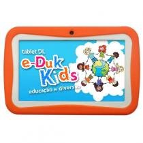 Tablet dl eduk kids ped-k71blj laranja - Dl