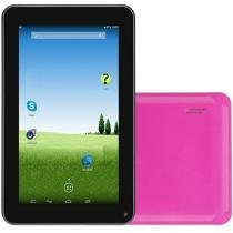 "Tablet DL Flex-S 4GB Tela 7"" Wi-Fi 4GB - Android 4.4"" Proc. Dual Core Câmera Frontal"