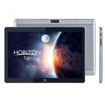 Tablet DL Horizon Tab T10,Tela 10.1, 2 Câmeras, 3G, Quad Core de 1.3Ghz, c/ suporte metálico cinza -