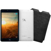 "Tablet DL Invent Now 8GB Tela 7"" Wi-Fi Android - Proc. Quad Core Câmera Integrada"